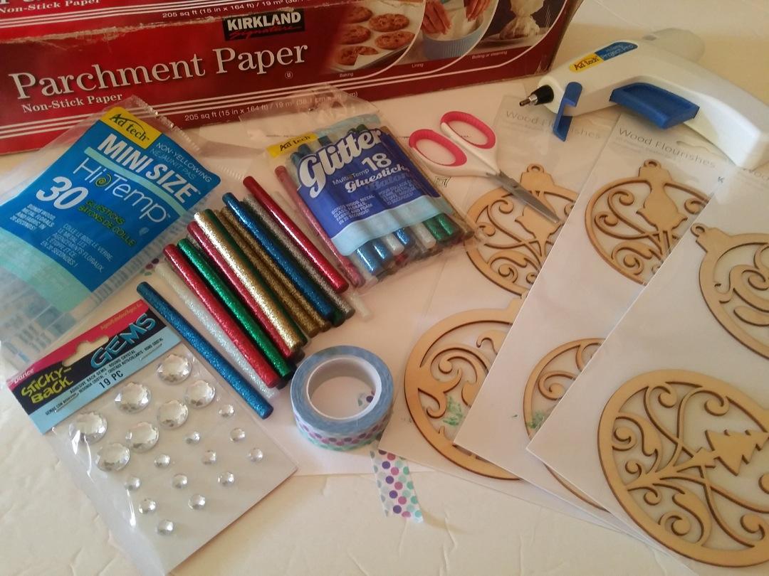 glitter glue supplies 2