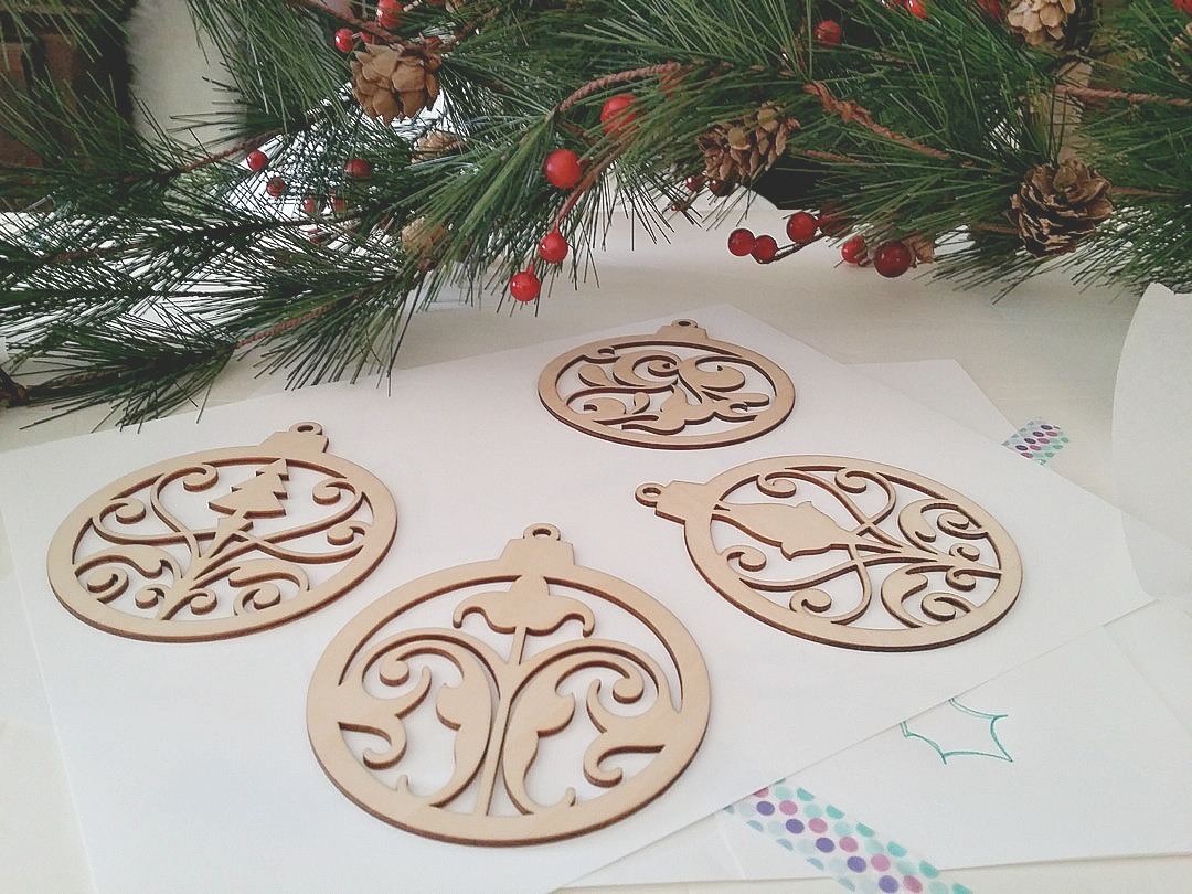 wood ornaments 1